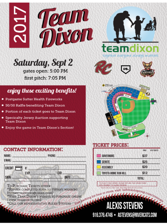 Help us Support T.E.A.M. Dixon