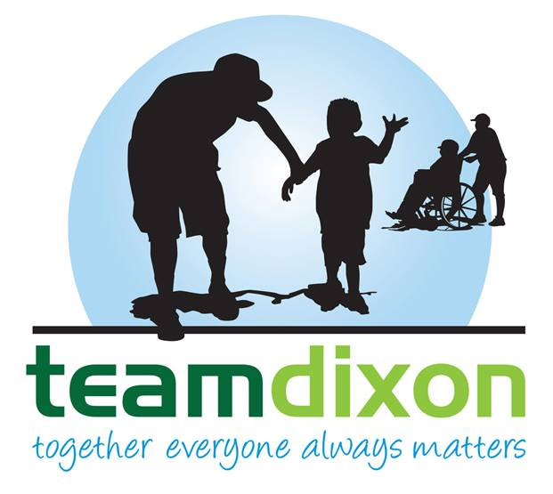 Proud Supporter of T.E.A.M. Dixon