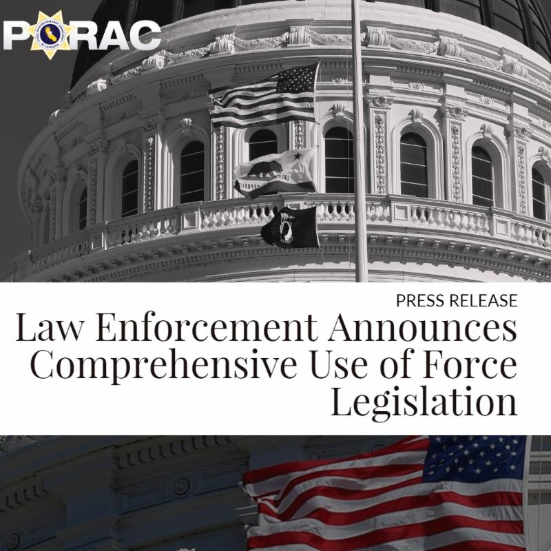 Law Enforcement Comprehensive Use of Force Legislation